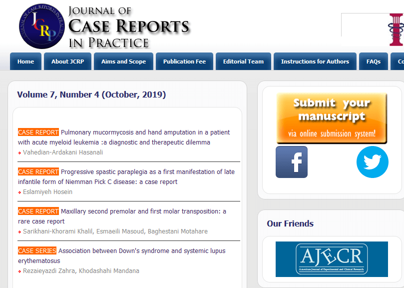 Journal of Case Report